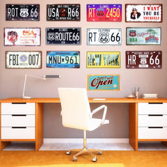 $7.32- Shabby Chic Retro Motorcycle Commercial Painting Vintage Car Tin Plate Tin Sign Bar Pub Home Wall Decor Metal Postr 30X15Cm A547