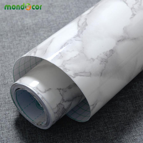 $25.52- 3M/5M/10M Marble Waterproof Vinyl Self Adhesive Wallpaper Modern Contact Paper Kitchen Cupboard Shelf Drawer Liner Wall Stickers