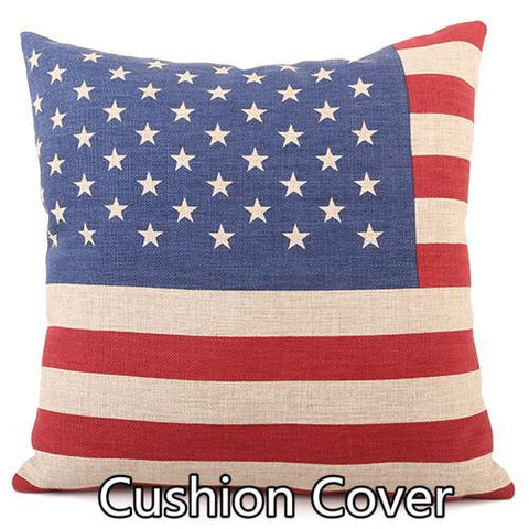 $15.30- Fashion Retro Wear Resistant Dustproof Thicken Printed Cotton Linen Pillows Case Cushions Home Decor Decorative Pillows For Sofa