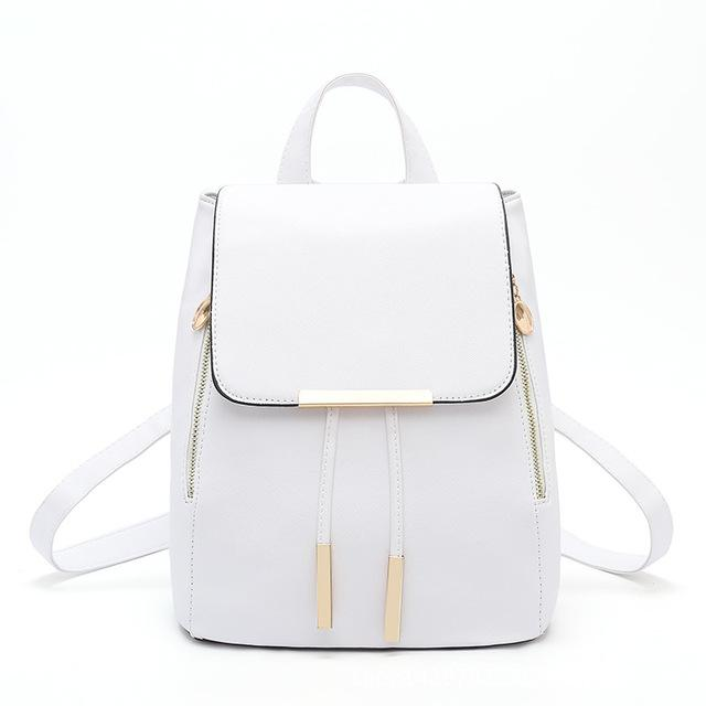 $39.31- Blascher New Trendy Female Backpacks High Quality Leisure Korean Lady Bags Preppy Style School Backpacks Scc16