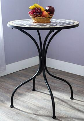 $255.00- Ou Shi Wrought Iron Courtyard Outdoor Mosaic Table And Chair. Chairs And Tables Of Tea Table