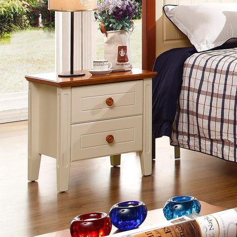 $443.29- Factory Mediterranean Style Bedroom Furniture Bedside Bedside Table