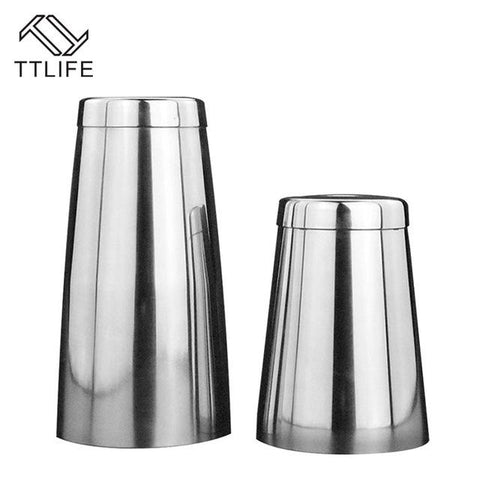 $55.55- Ttlife High Quality Deluxe Boston Bar Cocktail Shaker Cocktail Shaker Essential Barware Bar Tool Drink Mixer For Party Bar Tools