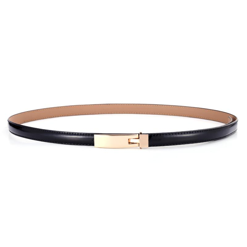 $11.04- Belts For Women Classic Wild Female Minimalist Thin Belt Women'S Belt Leather Belts Cinturon Hombre Cinto Feminino