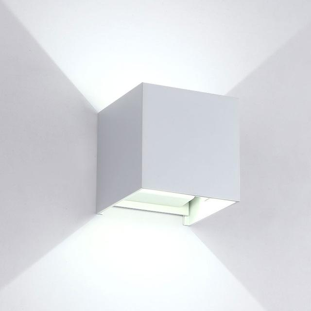 Ip65 Cube Adjustable Surface Mounted Outdoor Led Lightingled Outdoor Wall Light Up Down Led Wall Lamp
