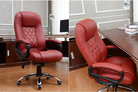 $678.30- 360 Degree Swivel Revolving Lift Chair PU leather Executive Computer chair Living Room Leisure chair