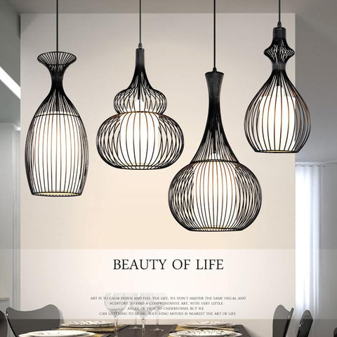 $90.44- Vintage Pendant Lights Loft Lamparas De Techo Nordic Bicycle Retro Lamps Edison Light Fixture Lustre Industrial Pendant Lamp