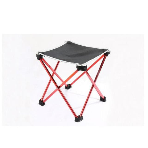 Outdoor Portable Stool Aluminum Oxford Cloth Chair Fishing Stool Beach Chair