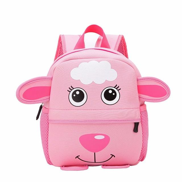 $18.44- 3D Cute Big Size Animal Design Backpacks Kids School Bags For Primary Girls Boys Cartoon Shaped Children School Backpacks