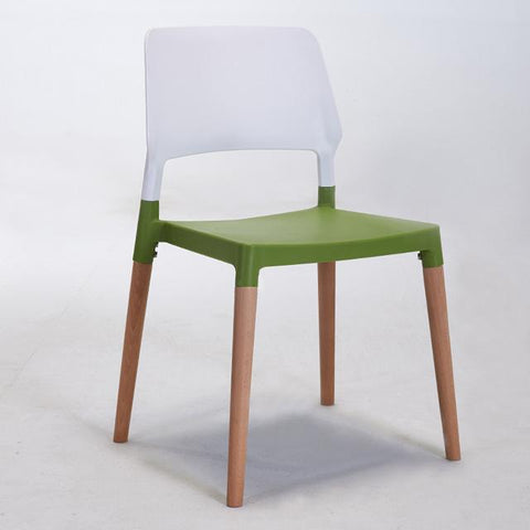 $305.66- Nordic Wood Plastic Chair Back Of A Chair Contemporary Contracted Fashion Leisure Chair Chair Coffee