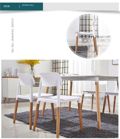$522.96- Coffee House White Color Stool Furniture Shop Chair Dining Room Tea Table Stool