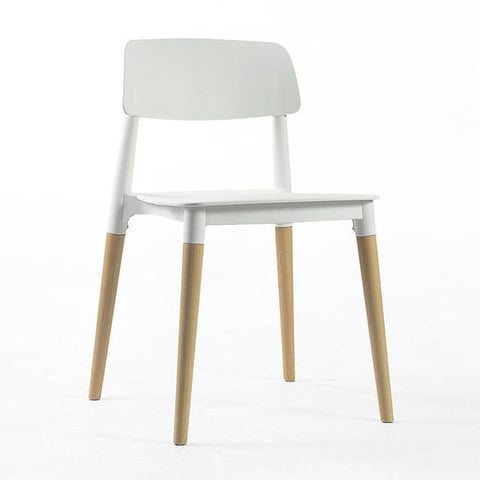 Coffee House White Color Stool Furniture Shop Chair Dining Room Tea Table Stool