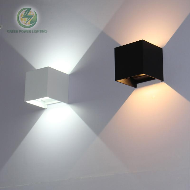 $86.39- Ip65 Cube Adjustable Surface Mounted Outdoor Led Lightingled Outdoor Wall Light Up Down Led Wall Lamp