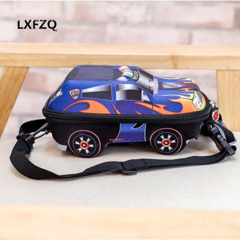 $17.74- 3D Car Children School Bags For Boys Lovely Toddler Children'S Backpacks Kids Backpack For Children Mochila Escolar Menino