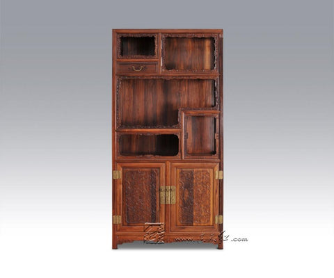 $10325.55- Solid Wood Storage Bookcase Living Room Office Filing Cabinets Redwood Rosewood Magazine Racks Combined Bookshelf Multifunction