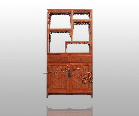 $10593.45- Rosewood Curio Storage Cabinets China Antique Home Furniture filing Magazine Racks Solid Wood Cupboard Multifunction Bookcase