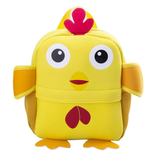 $14.85- New 3D Animal Children Backpacks Brand Design Girl Boys Backpack Toddler Kids Neoprene School Bags Kindergarten Cartoon Bag