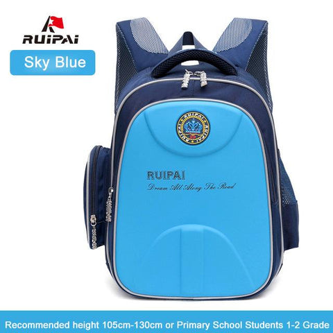 $55.49- Ruipai Kids Baby'S School Bags Hard Shell Waterproof Backpack Schoolbags Orthopedic Shoulder Bags For Boys Students Rucksack