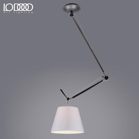 Lodooo Nordic Modern Ideal Suspension Luminaire Pendant Light For Office Study Room Minimalism E27 Rotating Hanging Pendant Lamp