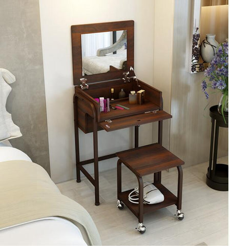 $811.80- Contemporary and contracted combination dresser.. Flip makeup tank. The bedroom dressing table