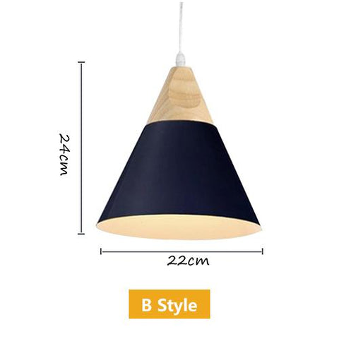 Ascelina Nordic Modern Creative Pendant Lights Loft Led Lamp Bar/Cafe/Restaurant/Corridor/Balcony Home Lighting Single Head E27