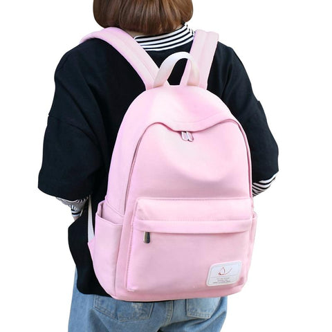 $59.40- Backpack School Bags For Teenage Pack Canvas Cute Colour Printing Backpack Set For Children Fashion New Polyester Knapsack Kids