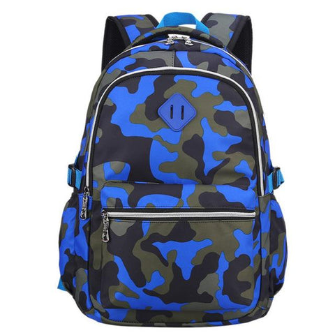 $35.01- Camouflage Stype School Bag Backpack For For Military Fans Boys Girls Primary /Middle School Kids School Backpack 820
