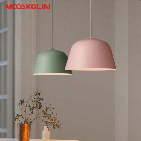 $96.19- Modern Nordic Ambit Denmark Pendant Lights Aluminum Pendant Lamps Led Ceiling Fixture Restaurant Kitchen Light Pendant Colgantes