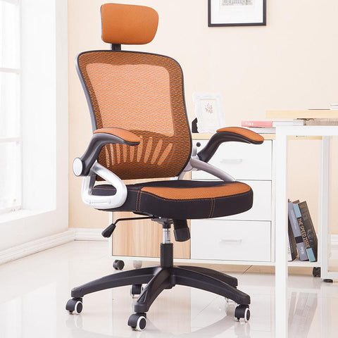 $582.25- Breathable Mesh Meeting Office Chair Soft Cushion Armrest Lifting Swivel Computer Chair Household Leisure Staff Chair