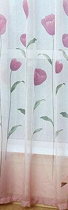 Rustic Window Curtains For Living Room Blackout Curtains For Kitchen Summer Pastoral Size Customized Tulip Pattern