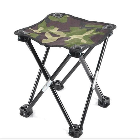 Portable Folding Stool Outdoor Fishing Chair Beach Chairs