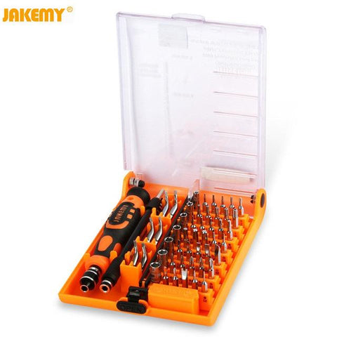 $24.19- JAKEMY JM8150 52 in 1 computer Laptop repair set hand tools precision Screwdriver Bit Set case DIY Screwdriver for PC iPhone
