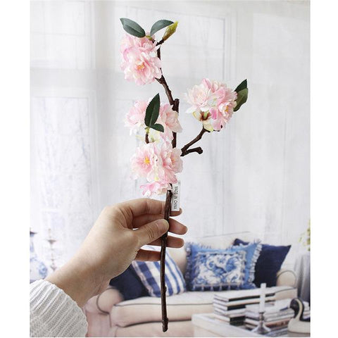Artificial Highend Simulation Cherry Blossoms Plant Flowers Japanesestyle Fake Wedding Home Decoration