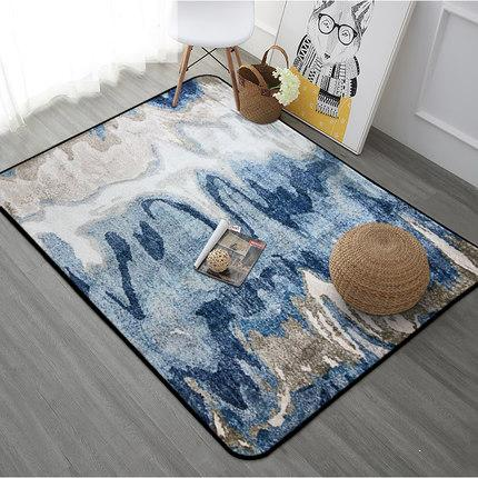 Buy Abstract Painting Printed Floor Carpet Rugs Modern Style Bedroom Carpet  For Living Room Nonslip Tapete Household Rectangle Mats $109.45  ICON2