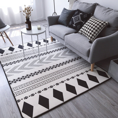 $129.91- New Geometric Floor Carpet For Living Room Nordic Style Rug Anti Slip Rugs Carpets For Home Living Room