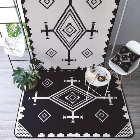 $168.12- New Geometric Floor Carpet For Living Room Nordic Style Rug Anti Slip Rugs Carpets For Home Living Room