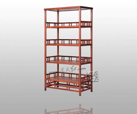 $5886.68- Storage Wood Bookcase Chinese Classic Retro Book Stand Rack Rosewood Redwood Bookshelf Home Furniture Office Cupboard Locker Set