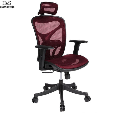 $394.24- Homdox Offical Chair Adjustable High Mesh Executive Office Computer Desk Ergonomic Chair Lift Swivel Chair N30*