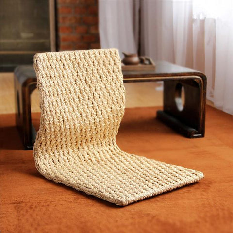 $247.42- 2pcs/lot Handmade Japanese Floor Legless Chair For Sitting Living Room Furniture Asian Traditional Tatami Zaisu Chair Design