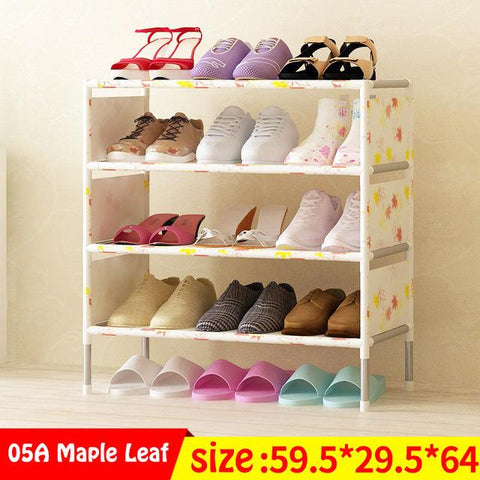 Multi Layer Shoe Rack Nonwovens Easy to install Shoe cabinet Shelf Storage Organizer Stand Holder Space Saving Furniture