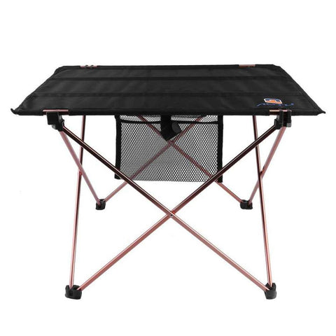 $37.87- Outdoor Folding Table Aluminium Alloy Picnic Camping Desk Table Roll Up Durable Waterproof Lightweight W/ Carrying Bag