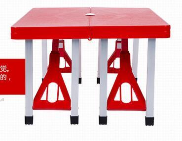 Folding Outdoor Tables Portable Camping Table Beach Tables Garden Table W/ Chairs