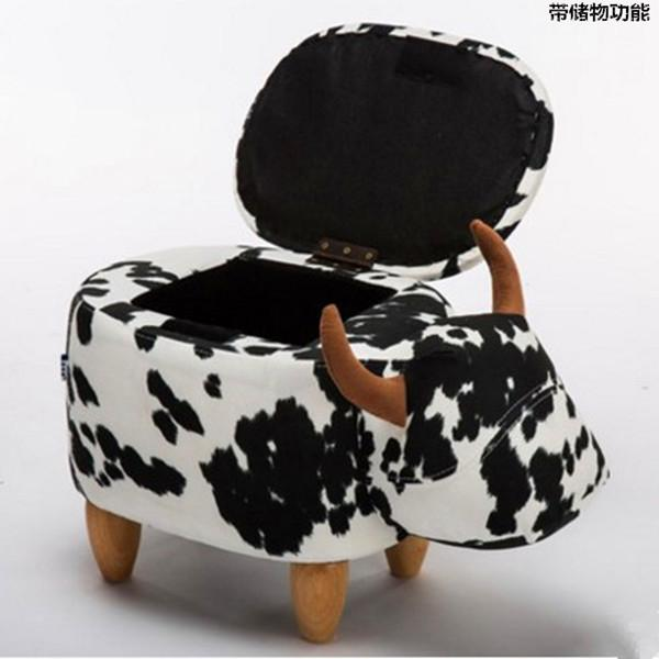 $181.88- Pouf Poire Storage Stool Shoes Changing Living Room Sofa Foot Chair Cloth Package Wooden Modern Stools New Arrival Furniture