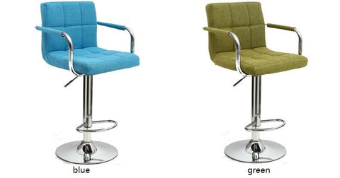 $328.15- Christmas Bar Chair North American Popular Coffee Stool Blue Green Color