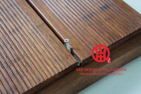 $10200.00- Carbonized /Natural Strand Woven Bamboo Flooring