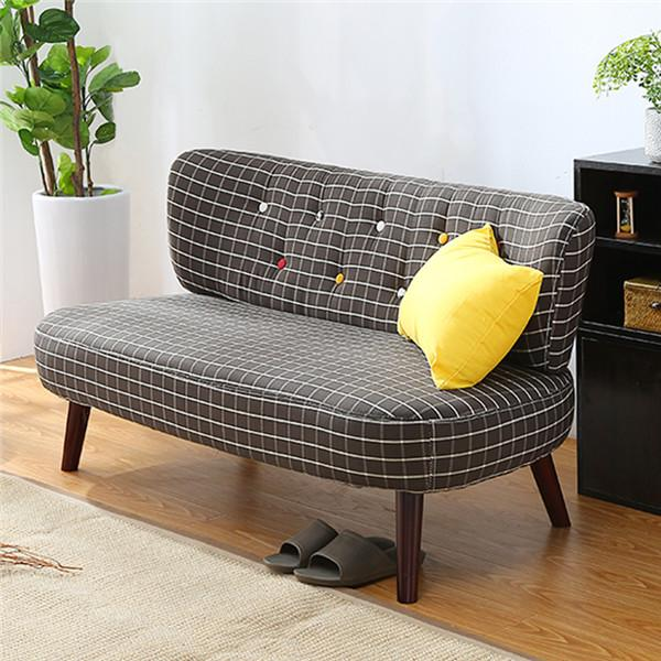 $390.31  Mid Century Modern Style Sofa Love Seat Colored Button Japanese  Style Low Sofa Small
