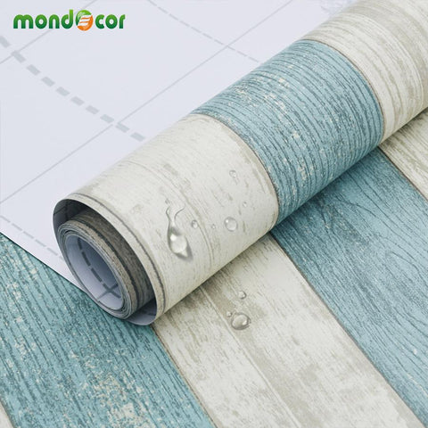 $29.88- 3M/5M/10M Self Adhesive Wall Paper Furniture Wall Stickers Bedroom Living Room Background Kitchen Cabinet Waterproof Wallpaper