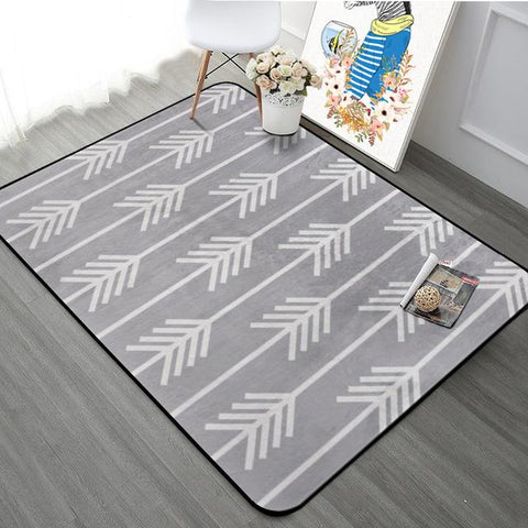 Nordic Simple Carpets For Living Room Home Bedroom Rugs Carpets Fashion Music Floor Mat Coffee Table Area Rug Soft Velvet