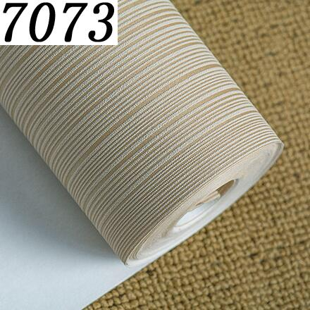 $28.62- Modern Minimalist Style Wall Paper Striped Solid Color Non Woven Wallpaper Living Room Tv Sofa Background Wallcovering R521