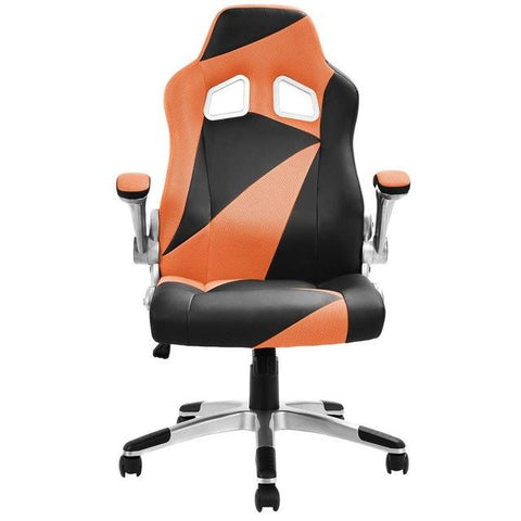 $126.92- Goplus 5 Colors Pu Leather Executive Racing Style Bucket Seat Office Desk Task Mesh Swivel Lifting Computer Gaming Chair Hw52014